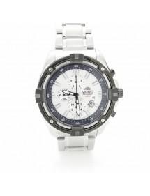 Reloj Orient Chronograph blanco
