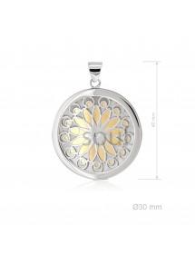 Colgante Mandala pequeño flor