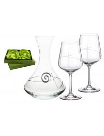 Juego 2 copas Vino 580 ml Strix cristal Decantador 31AA9 203