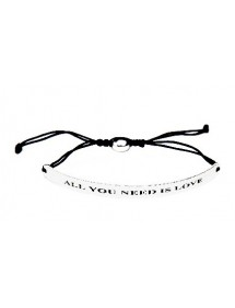 Pulsera mensaje ALL YOU NEED IS LOVE