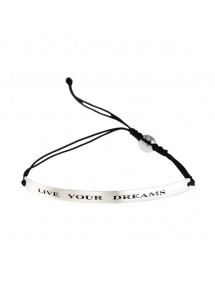 Pulsera mensaje live your dreams