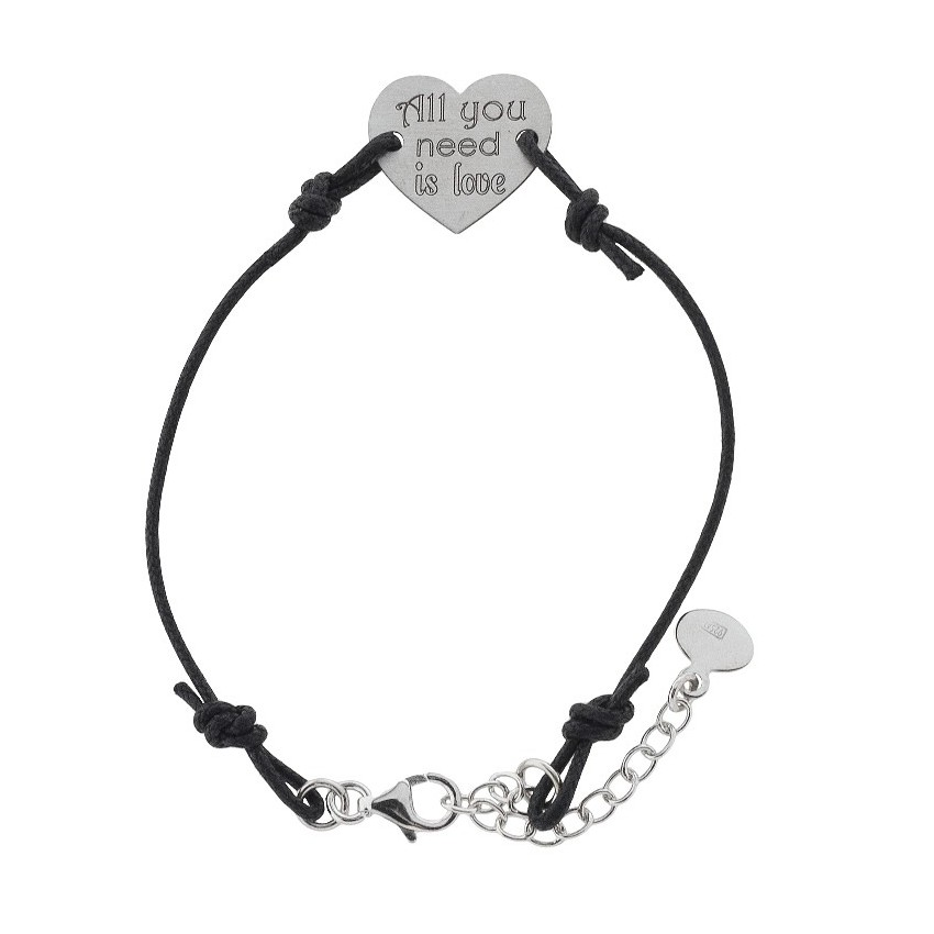 Pulsera cordón All you need is love