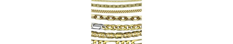 Cadenas de Oro 18k para Hombre y Mujer - Joyería el Faro